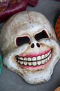 Mask at Pokhara, Nepal.