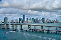 William Powell Bridge, Rickenbacker Causeway, Key Biscayne