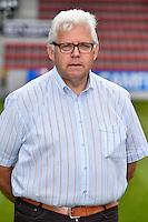 20150707 - WAREGEM, BELGIUM: Team manager Martin Balcaen poses during the 2015-2016 season photo shoot of Belgian first league soccer team Zulte Waregem, Tuesday 07 July 2015 in Waregem. BELGA PHOTO LUC CLAESSEN