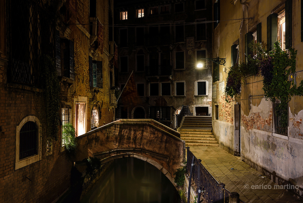Canals and bridges near Campo San Giovanni e Paolo, one of the largest squares in the city.