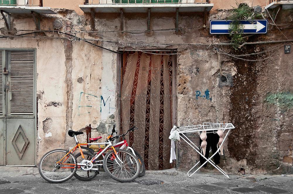 Palermo:quartiere Kalsa.<br /> Palermo: Kalsa district