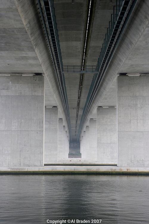 Baldwin Bridge (I-95) over the Connecticut River at Old Saybrook, CT