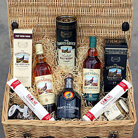 Famous Grouse whisky hamper<br /><br />Picture by Graeme Hart.<br />Copyright Perthshire Picture Agency<br />Tel: 01738 623350  Mobile: 07990 594431