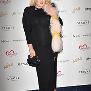 Felicity Hayward attends gala dinner and concert to raise money and awareness for the Melissa Bell Foundation and Style For Stroke Foundation.