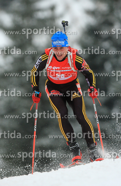 Michael Greis (GER) at Men 20 km Individual at E.ON Ruhrgas IBU World Cup Biathlon in Hochfilzen (replacement Pokljuka), on December 18, 2008, in Hochfilzen, Austria. (Photo by Vid Ponikvar / Sportida)