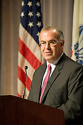 David Brooks addressing the State Bar of Texas, Annual Meeting 2009, Dallas Texas, June 25, 2009. David Brooks (born August 11, 1961) is a political and cultural commentator for The New York Times and The NewsHour with Jim Lehrer.