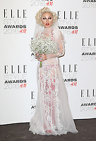 Brooke Candy, ELLE Style Awards 2016, Millbank London UK, 23 February 2016, Photo by Richard Goldschmidt