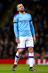 Nicolas Otamendi of Manchester City cuts a frustrated figure - Mandatory by-line: Robbie Stephenson/JMP - 26/11/2019 - FOOTBALL - Etihad Stadium - Manchester, England - Manchester City v Shakhtar Donetsk - UEFA Champions League Group Stage