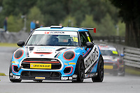 #10 Chris Smith Mini F56 JCW during the MINI Challenge - JCW at Oulton Park, Little Budworth, Cheshire, United Kingdom. August 20 2016. World Copyright Peter Taylor/PSP.