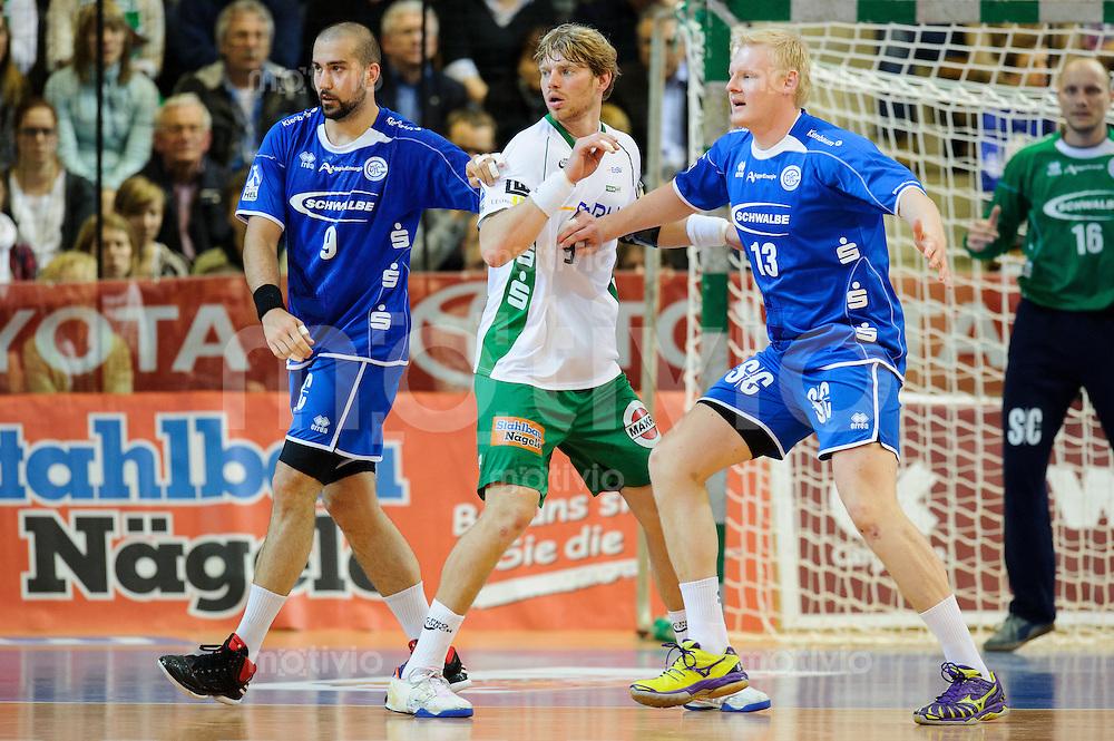 v.l.n.r. Igor Anic (VFL), Manuel Späth (FAG), Patrick Wiencek (VFL)