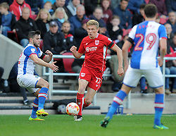 Taylor Moore of Bristol City in action during the Sky Bet Championship match between Bristol City and Blackburn Rovers at Ashton Gate Stadium on 22 October 2016 in Bristol, England - Mandatory by-line: Paul Knight/JMP - 22/10/2016 - FOOTBALL - Ashton Gate Stadium - Bristol, England - Bristol City v Blackburn Rovers - Sky Bet Championship