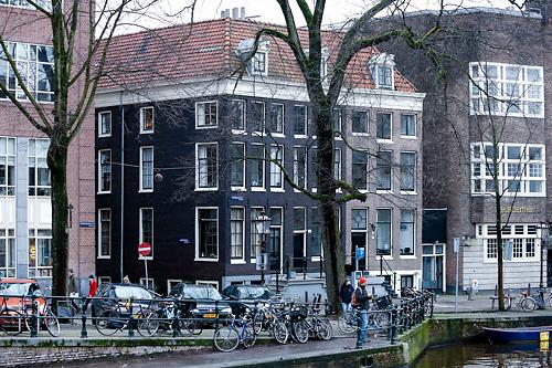 NLD/Amsterdam/20121227 - Woning van Lex Harding aan de gracht  in Amsterdam,