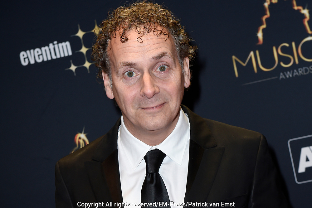 Musical Awards Gala 2016 in het Beatrix Theater Utrecht<br /> <br /> Op de foto:  Robin de Levita