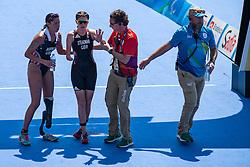 STEADMAN Lauren, GBR, Para-Triathlon, PT4, NORMAN Grace, USA at Rio 2016 Paralympic Games, Brazil