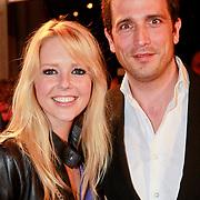 NLD/Den Haag/20110406 - Premiere Alle Tijden, Chantal Janzen en partner Marco Geeratz