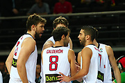 DESCRIZIONE : Kaunas Lithuania Lituania Eurobasket Men 2011 Quarter Final Round Spagna Slovenia Spain Slovenia<br /> GIOCATORE : team<br /> CATEGORIA : team<br /> SQUADRA : Spagna Spain <br /> EVENTO : Eurobasket Men 2011<br /> GARA : Spagna Slovenia Spain Slovenia<br /> DATA : 14/09/2011<br /> SPORT : Pallacanestro <br /> AUTORE : Agenzia Ciamillo-Castoria/G.Matthaios<br /> Galleria : Eurobasket Men 2011<br /> Fotonotizia : Kaunas Lithuania Lituania Eurobasket Men 2011 Quarter Final Round Spagna Slovenia Spain Slovenia<br /> Predefinita :