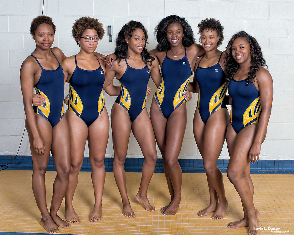 2015-16 A&T Swimming Team Pictures