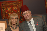 Reeva and Ezra Mager.The New-York Histoircal Society.Opening of:Woven Splendor from Timbuktu to Tibet: Exotic Rugs and Textiles from New York Collectors