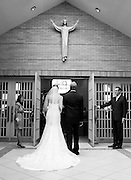 The wedding of Kim Blanco and Michael Porter at Holy Family Catholic Church in Poland, Ohio on September 16, 2011.