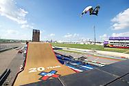 Jake Brown during Skate Big Air Practice at 2014 X Games Austin in Austin, TX.   ©Brett Wilhelm/ESPN