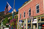 Downtown shops, Ouray, Colorado