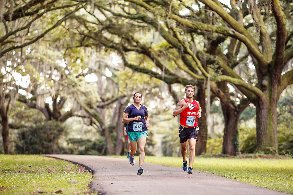 Images from the 2015 Race the Landing 5k Series race #3 at Charlestowne Landing in Charleston, South Carolina.