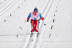 KONOVALOVA Svetlana, RUS at the 2014 IPC Nordic Skiing World Cup Finals - Middle Distance