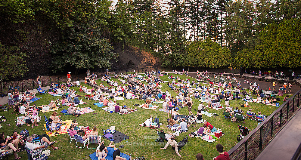 Mount Tabor Park Summer Concert Series.  Final concert on 18 August, 2009.