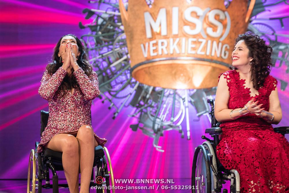 NLD/Amsterdam/20170507 - Gehandicapte Mis(s) verkiezing 2017, bekendmaking winnares