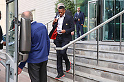 Anthony Martial Forward of Manchester United departs the Lowry hotel before the Manchester United vs Celta Vigo match  at Old Trafford, Manchester, United Kingdom on 11 May 2017. Photo by Phil Duncan.