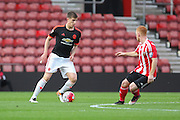 Manchester United Paddy McNair during the Barclays U21 Premier League match between U21 Southampton and U21 Manchester United at the St Mary's Stadium, Southampton, England on 25 April 2016. Photo by Phil Duncan.