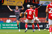 Leeds United midfielder Kalvin Phillips (23)  during the EFL Sky Bet Championship match between Bristol City and Leeds United at Ashton Gate, Bristol, England on 4 August 2019.