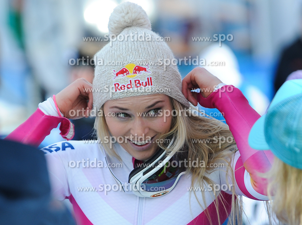 19.01.2015, Olympia delle Tofane, Cortina d Ampezzo, ITA, FIS Weltcup Ski Alpin, Super G, Damen, im Bild Lindsey Vonn (USA, 1. Platz) // 1st placed Lindsey Vonn of the USA during the ladie's SuperG of the Cortina FIS Ski Alpine World Cup at the Olympia delle Tofane course in Cortina d Ampezzo, Italy on 2015/01/19. EXPA Pictures © 2015, PhotoCredit: EXPA/ Johann Grode