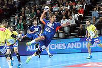 Issam Tej - 15.03.2015 - Montpellier / Kielce - 1/8Finale aller Ligue des Champions<br /> Photo : Andre Delon / Icon Sport