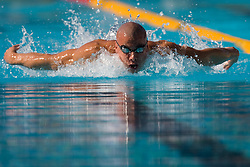 Niksa Roki of Croatia during the Men's  400m Individual Medley Heats during the 13th FINA World Championships Roma 2009, on August 2, 2009, at the Stadio del Nuoto,  in Foro Italico, Rome, Italy. (Photo by Vid Ponikvar / Sportida)