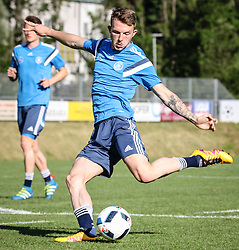 01.07.2016, Athletic Area, Schladming, AUT, U19 EURO, Vorbereitung Deutschland, DFB U19 Junioren, im Bild Jannes Horn (VfL Wolfsburg) // during a training camp of Team Germany for preparation for the UEFA European Under-19 Championship at the Athletic Area, Austria on 2016/07/01. EXPA Pictures © 2016, PhotoCredit: EXPA/ Martin Huber