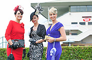 Previous winners of the Anthony Ryan Best dressed during the Galway Races competition Mary Doyle ( 2004),  Suzanne McGarry ( 2011) and  Niamh O?Donovan ( 2003 ). Photo:Andrew Downes