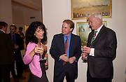 Kokoly Fallah, Lord Harry Dalmany and John Graham, ( in pink shirt) Opening of Bridge club, Mossop St. 27 April 2004. ONE TIME USE ONLY - DO NOT ARCHIVE  © Copyright Photograph by Dafydd Jones 66 Stockwell Park Rd. London SW9 0DA Tel 020 7733 0108 www.dafjones.com