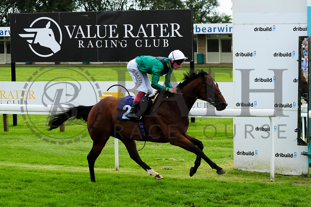 Let Rip ridden by Adam Kirby and trained by Henry Candy in the Weatherbys Racing Bank Foreign Exchange Handicap (Class 4) race. - Ryan Hiscott/JMP - 21/08/2019 - PR - Bath Racecourse - Bath, England - Race Meeting at Bath Racecourse