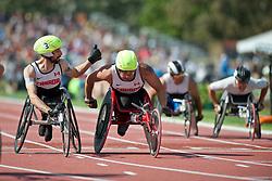 LAKATOS Brent, THOM Curtis, CAN, 4x400m Relay, T53/54, 2013 IPC Athletics World Championships, Lyon, France
