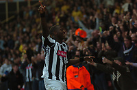 Photo: Tony Oudot/Sportsbeat Images.<br /> Watford v West Bromwich Albion. Coca Cola Championship. 03/11/2007.<br /> Ishmael Miller of West Brom celebrates his first goal with the fans