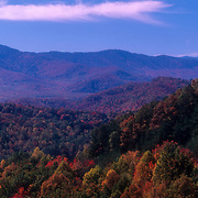 Autumn in the valley, Great Smoky Mountains National Park, Tennessee