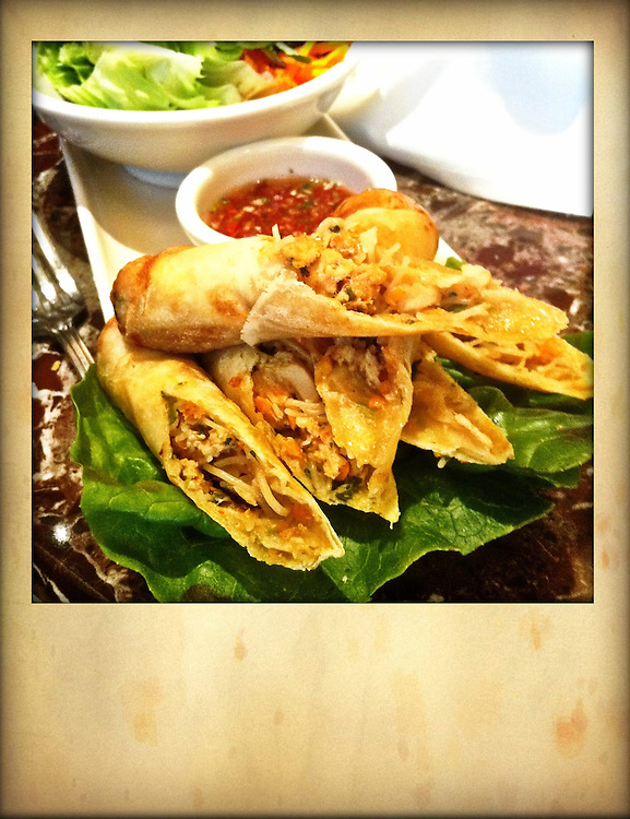 Spring Rolls, Iphoneography; Iphone image cellphone photography,Iphone pictures,smartphone pictures