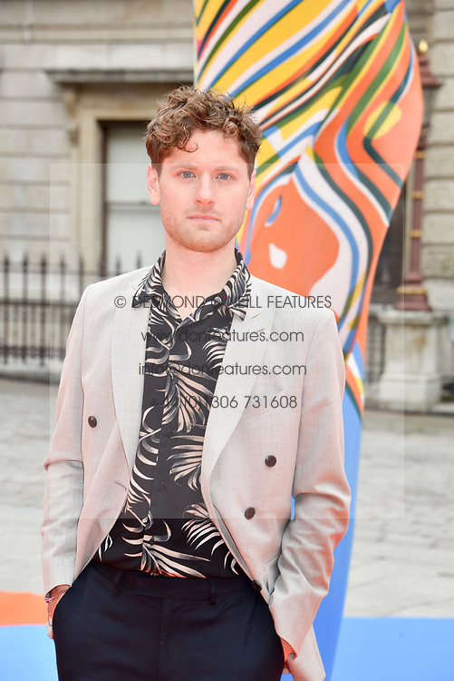 Kyle Soller at the Royal Academy of Arts Summer Exhibition Preview Party 2017, Burlington House, London England. 7 June 2017.