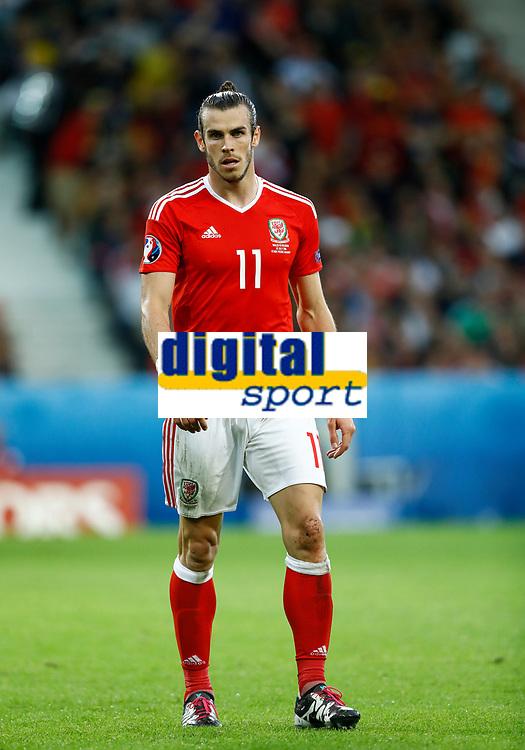 Gareth Bale (Wales)<br /> Lille 01-07-2016 Stade Pierre Mauroy Football Euro2016 Wales - Belgium / Galles - Belgio <br /> Quarter-finals. Foto Matteo Ciambelli / Insidefoto