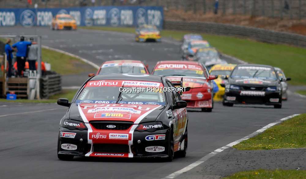 Kayne Scott during V8 race, New Zealand Truth V8s Championship, Pukekohe Park Raceway, New Zealand. Sunday 04 November 2007, Photo : William Booth/PHOTOSPORT