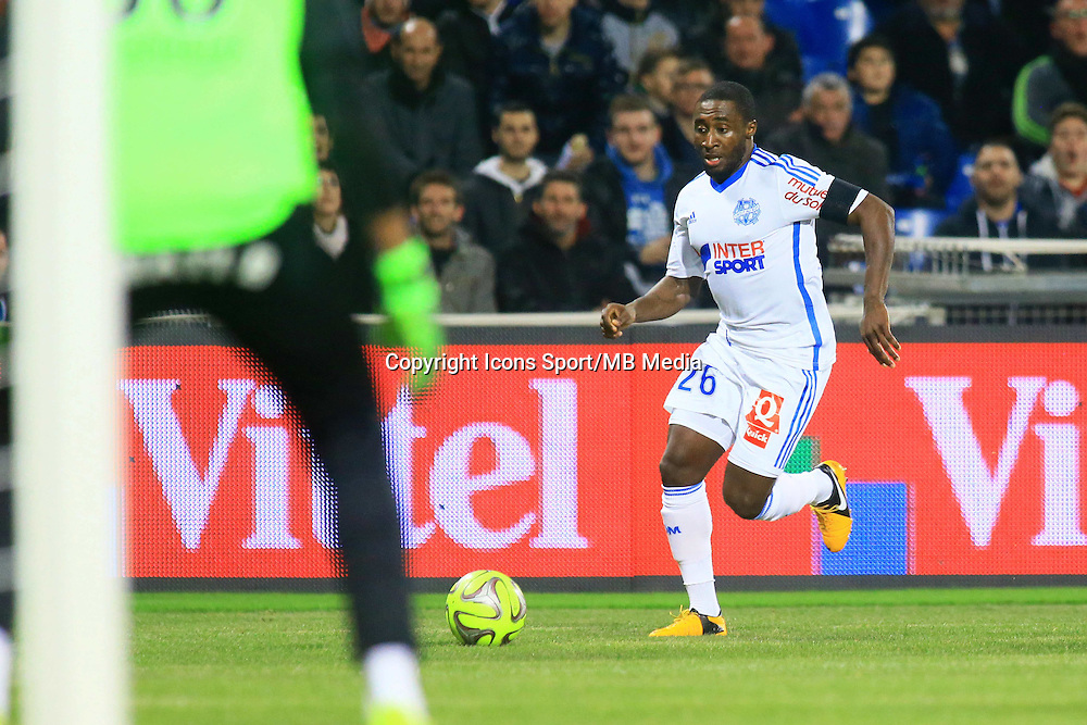 Brice DJADJEDJE - 09.01.2015 - Montpellier / Marseille - 20eme journee de Ligue 1<br />Photo : Nicolas Guyonnet / Icon Sport