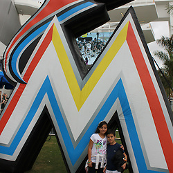 UM/Miami Marlins Family Night 2012 - All Photo