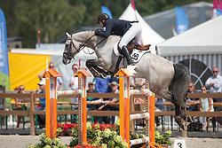 De Boer Lennard, (NED), Durango VDL<br /> Finale 7 jarige springpaarden <br /> KWPN Paardendagen Ermelo 2015<br /> © Hippo Foto - Leanjo de Koster
