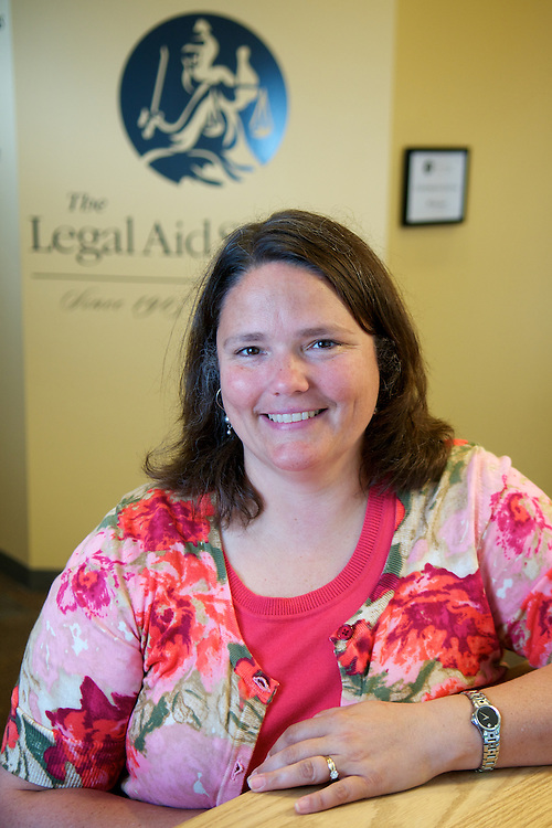Colleen Cotter, Executive Director for the Legal Aid Society of Cleveland at the group's offices on Thursday, June 23, 2011.